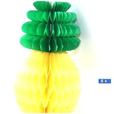pineapple tissue paper s craft gold