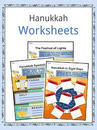 the hanukkah facts worksheets
