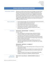 Human Resource Manager Resume 13 Download Hr Sample Doc 12 Manag