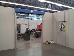 warehouse mezzanine modular office. Inplant-PRECOR-WALL-PARTITION-PHASE-2-GOFFS-DOOR 1d Warehouse Mezzanine Modular Office S