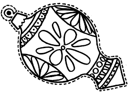 Small Picture Christmas Ornament Coloring Page Crayola Com Coloring Coloring Pages