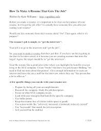 Creating A Resume Template New How To Create Resumes How To Create Resume For Job Create A Resume