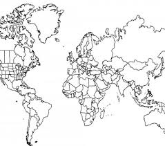 Small Picture World Map Coloring Page Best Coloring Pages adresebitkiselcom