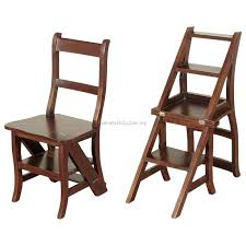folding chair step ladder step ladder chair solid wood folding step stool chair library step chair oak folding chair into step ladder