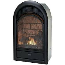 dual gas wood fireplace vent free dual burner wood gas fireplace with thermostat