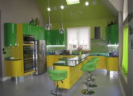 50 Cool Green and Yellow Kitchen Designs
