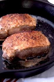pan seared pork chops laughing spatula