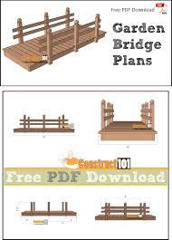 flat garden bridge plans pdf