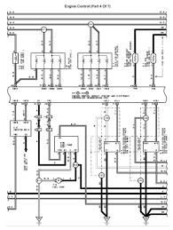 lexus v8 1uzfe wiring diagrams for lexus ls400 1993 model engine 1uzfe engine control part 4 of 7 page 001