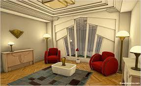 Art Deco  Simple Art Deco Interior Design ...