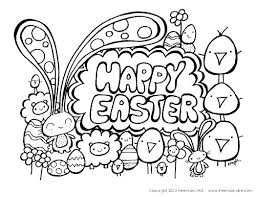 Preschool Easter Coloring Pages Free Printable Egg Mtkguideme