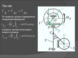 Курсовая работа по теоретической механике Динамика кулисного  4