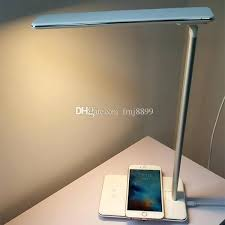 touch control lamp led desk lamp touch control table lamp with wireless charger eye ls7232 touch