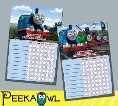 11 Best Photos Of Thomas Potty Chart Printable Thomas The Train