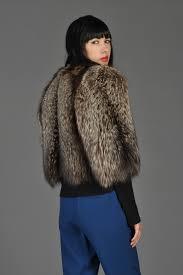 edward molyneux s silver fox fur bolero  bustown modern