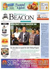 The Peninsula Beacon, March 28th, 2019 by San Diego Community ...
