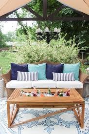 diy patio coffee table outdoor goods