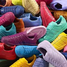 adidas shoes superstar colors. pharrell adidas superstar supercolor will release 50 different colors shoes
