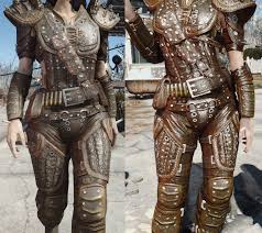 real leather hd armor and clothing for fo4