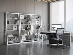 Eileen Blanc Leaning Shelf 5157 - BDI
