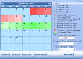 Menstrual Cycle Calendar Calculator