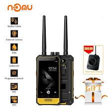 <b>Nomu T18</b> IP68 Walkie Talkie Waterproof <b>4G</b> LTE Mobile Phone 4.7 ...