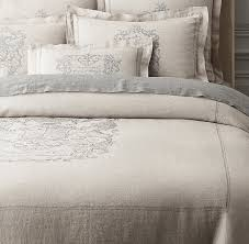 crest vintage washed belgian linen duvet cover for designs 8