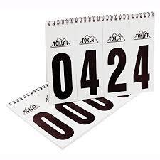 Number Flip Chart Number Flip Chart Set Of 2 Buy Online In Uae Sporting