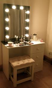dressing table lighting. Vanity Table With Lighted Mirror Makeup Lights Dressing Lighting