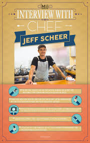 interview chef jeff scheer the mill house interview chef jeff scheer infographic