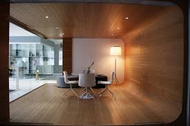 desk office design wooden office. Contemporary Office Design Ideas Pictures Collection : Incredible U Shape Wooden Floor And Wall Desk T