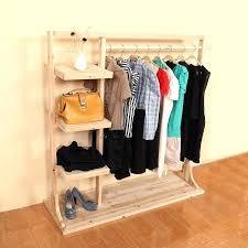 childrens coat rack garment the clothing racks shelf solid wood floor wall display ikea
