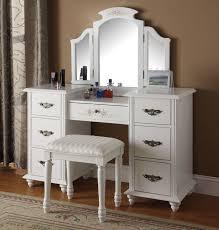 makeup vanity set with mirror
