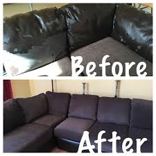 to reupholster attached couch cushions