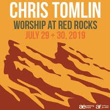 Red Rock Amphitheater Seating Chart Las Vegas Chris Tomlin Worship At Red Rocks Red Rocks Entertainment