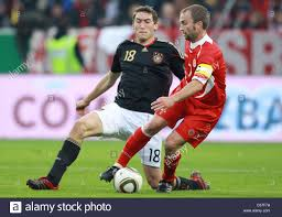 Germany's Stefan Reinartz (L) and Malta's Ivan Woods vie for the ball Stock  Photo - Alamy
