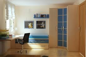 Single Bedroom Small Bedroom Modern Small Bedroom Featuring Beige Wall Themes With