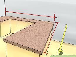 gap between countertop and wall image titled measure step 5 gap between countertop and wall