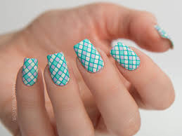 Paint All The Nails Presents Pastel Geometric Nail Art with Floss ...