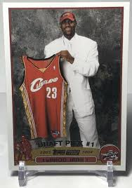 The last lebron card value thread got deleted because people got political. This Fake Lebron James 2003 04 Topps Rookie Card Is Everywhere Sports Card Info