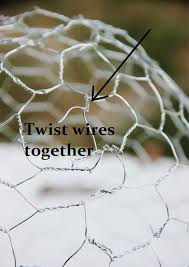 en wire cloche you can diy for 1