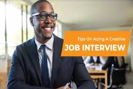 Tips For Acing A Job Interview Practical Tips On Acing A Creative Job Interview The Standard