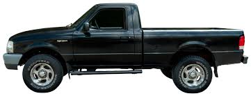 Lot Detail - Mike Trout's 2000 Ford Ranger Black Pickup Truck with ...