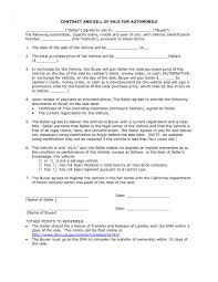 Free Auto Bill Of Sale Form Template Together With Contract Car Sale ...