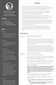 Communications Manager Resume samples