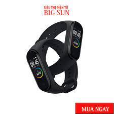 Vòng đeo tay Xiaomi Mi Band 4 - Mi Band 5 ✨Chính hãng Có Tiếng Việt - Hàng chính  hãng của Xiaomi - Vòng Đeo Thông Minh - Vòng Theo Dõi Vận Động