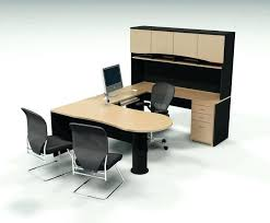 two person computer desk office deskclever home furniture ideas