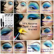 cleopatra makeup tutorial step 7 eyeshadow and lips
