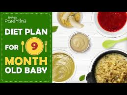 9 Months Old Baby Food Chart Along With Recipes