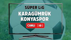 Canlı izle Karagümrük Konyaspor Bein Sports 1 şifresiz canlı maç izle, Karagümrük  Konyaspor maçı ne zaman ve hangi kanalda canlı yayınlanacak? Maç sonucu -  Tv100 Spor